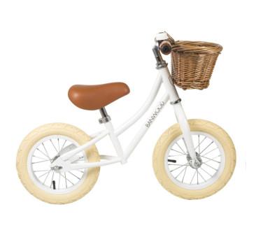 Rowerek biegowy - White/Biały - First Go - Banwood
