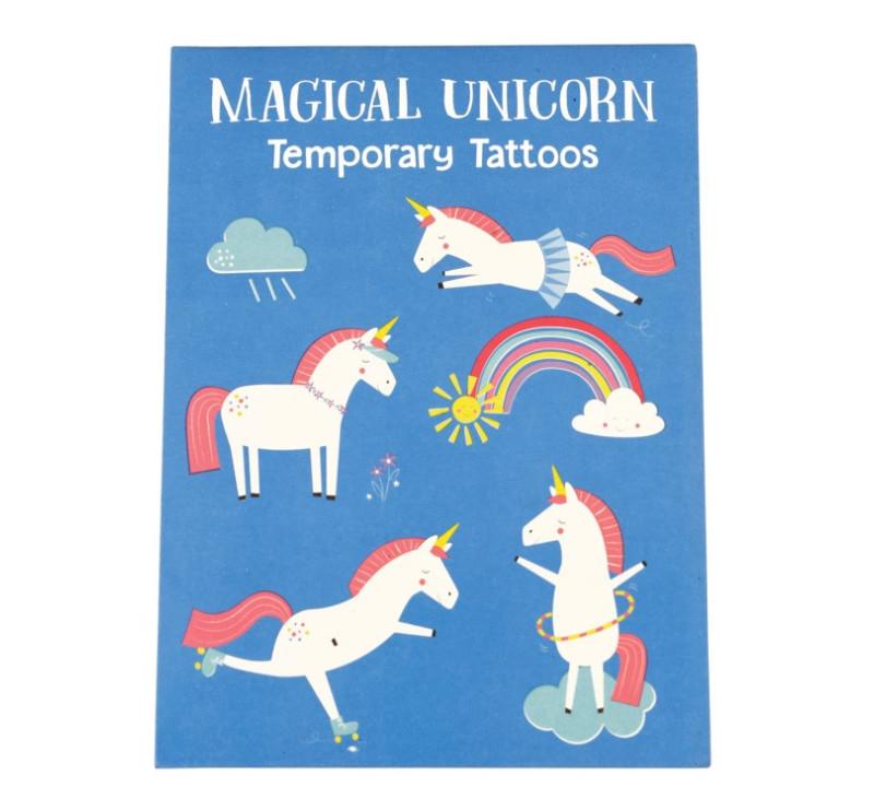Zmywalne Tatuaże - Jednorożec - Rex London Trade