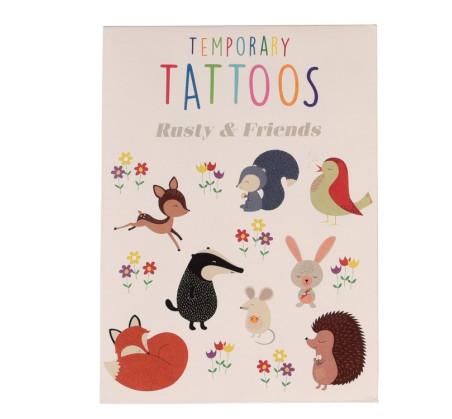 Zmywalne Tatuaże - Lis i Przyjaciele - Rex London Trade