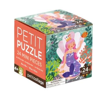 WYPRZEDAŻ Puzzle Mini - Syrenka - Petit Collage