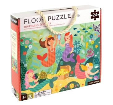 Puzzle Podłogowe - Syrenka - Petit Collage