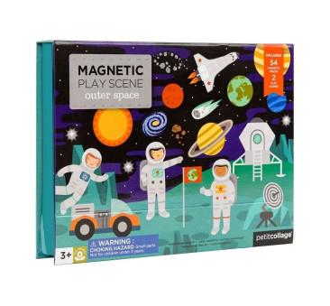 Magnetyczna układanka - Kosmos - Petit Collage