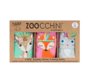 Majtki treningowe - Princess 3pack - 2-3 lata - Zoocchini