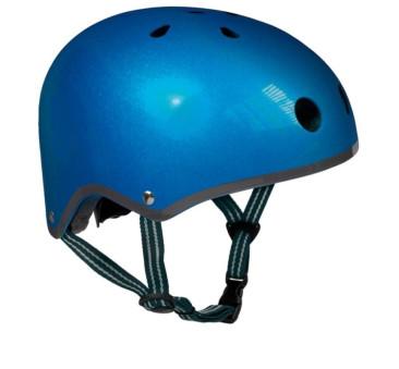Kask ciemnoniebieski M (53-58 cm) dziecięcy - Micro - na hulajnogę rower rolki