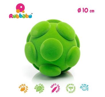 Sensoryczna piłka guziki - zielona - Rubbabu