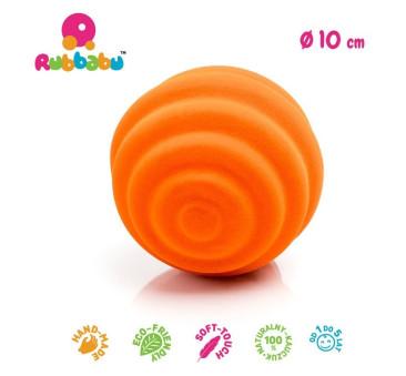 Sensoryczna piłka fale - pomarańczowa - Rubbabu