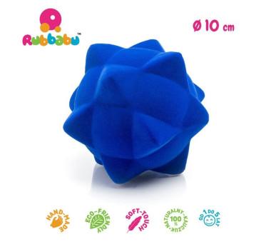 Sensoryczna piłka piramidy - niebieska - Rubbabu