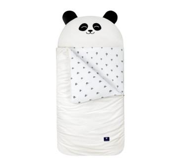 Śpiworek Sleepover - Biała Panda - rozm. S - Vestom - Kidspace