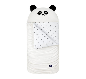 Śpiworek Sleepover - Biała Panda - rozm. M - Vestom - Kidspace