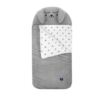 Śpiworek Sleepover - Szary Zając - rozm. L - Vestom - Kidspace
