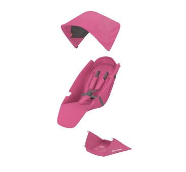 Greentom Upp Classic - tapicerka - różowa / pinkl - materiał