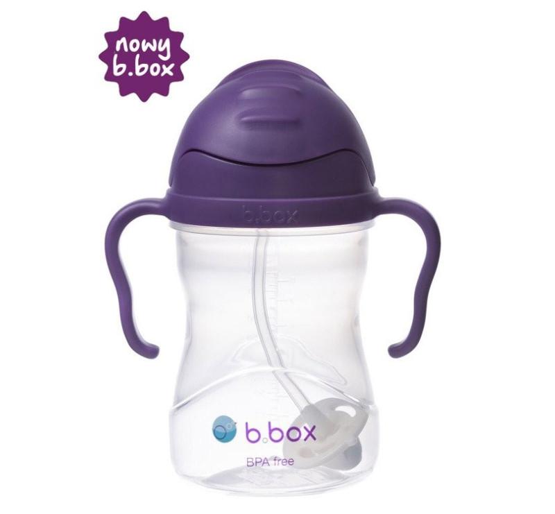 Nowy Winogronowy Innowacyjny Bidon Niekapek - B.BOX