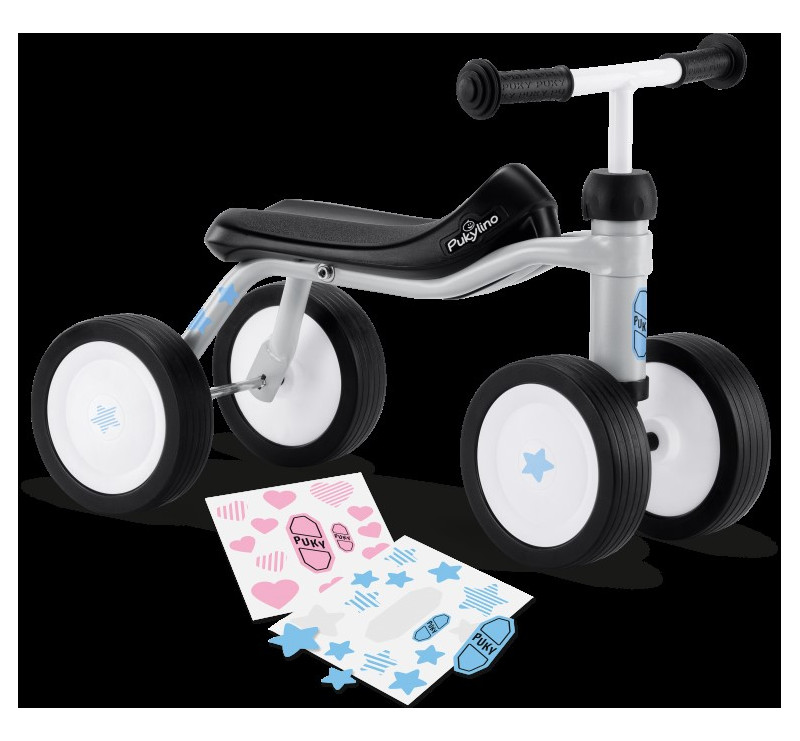 Jeździk Dla Dzieci Grey PukyLino
