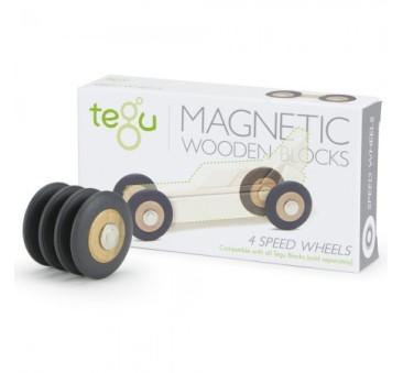 Magnetyczne Koła - System ACCESSORIES - Drewniane Klocki Magnetyczne - Tegu
