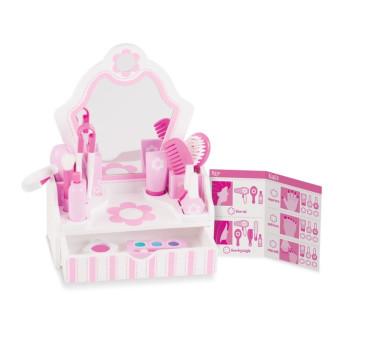 Salon Piękności - Toaletka z akcesoriami - Melissa & Doug