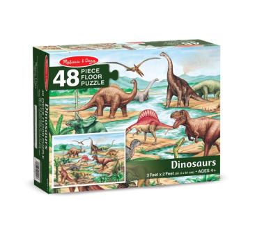 Puzzle Podłogowe Dinozaury - 48 kawałków - Melissa & Doug
