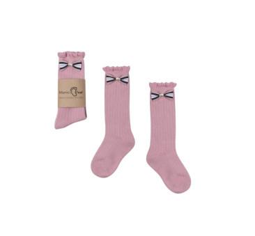 Podkolanówki 0-1 lat - Różowa Księżniczka - Mamas Feet - Mama's Feet