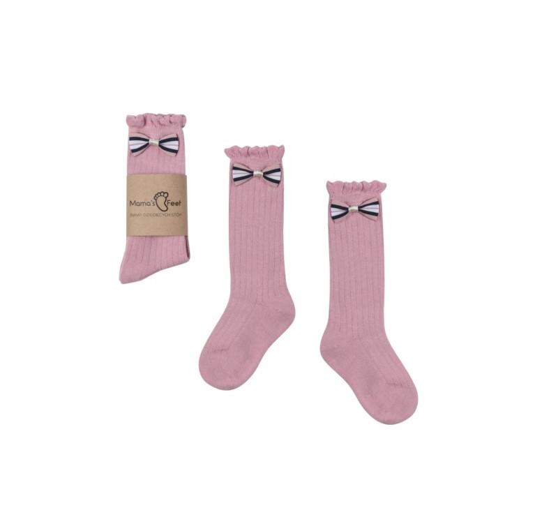 Podkolanówki - Różowa Księżniczka - 4-6 lat - Mamas Feet - Mama's Feet