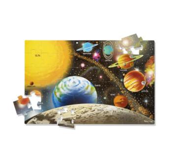 Puzzle Podłogowe Układ Słoneczny - Kosmos - 48 kawałków - Melissa & Doug