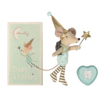 Myszka Zębuszka w Metalowym Pudełku - Tooth Fairy - Big Brother Mouse - Maileg