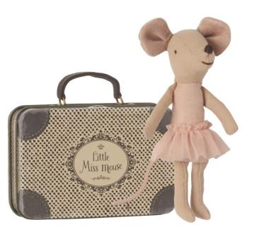 Myszka Baletnica w Walizce - Ballerina in Suitcase - Maileg