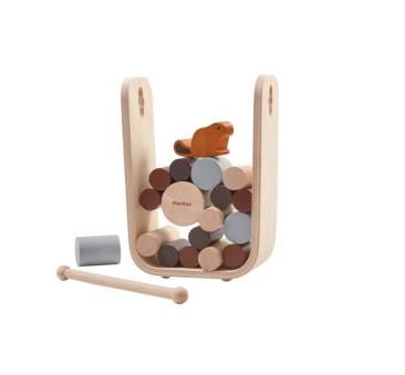 Uratuj Bobra - gra zręcznościowa Timber Tumble - Plan Toys