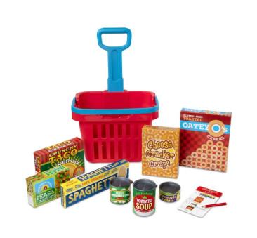 Koszyk Zakupowy z Akcesoriami Spożywczymi - Melissa & Doug