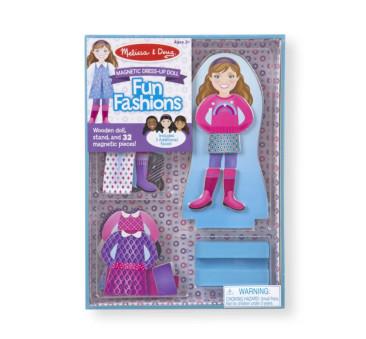Puzzle Magnetyczne Ubieranka - Układanka - Moda - Melissa & Doug - Montessori