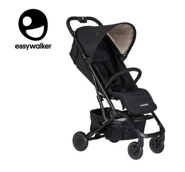 Night Black Easywalker Buggy XS - Wózek spacerowy z osłonką przeciwdeszczową - Easywalker - Spacerówka 2019