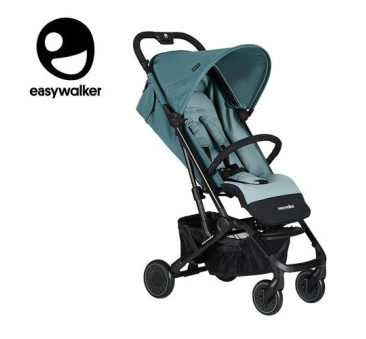 Ocean Blue Easywalker Buggy XS - Wózek spacerowy z osłonką przeciwdeszczową - Easywalker - Spacerówka 2019