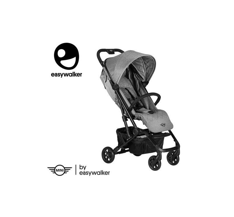 Soho Grey MINI By Easywalker Buggy XS - Wózek spacerowy z osłonką przeciwdeszczową - Easywalker - Spacerówka 2019