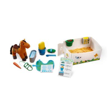 Zestaw Do Pielęgancji Konia - Melissa & Doug - Montessori