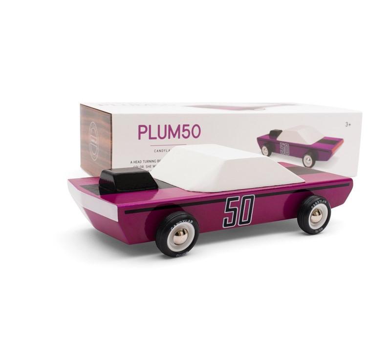 Drewniany Samochód - Plum 50 - CandyLab