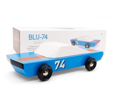 Drewniany Samochód - Blu74 - Speed Racer - CandyLab