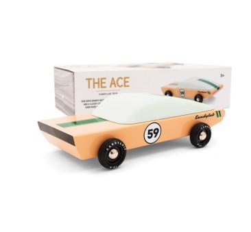 Drewniany Samochód - The Ace - Speed Racer - CandyLab