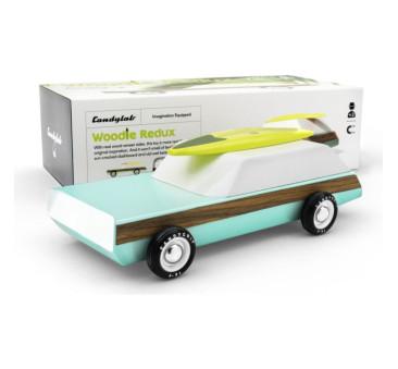 Drewniany Samochód - Woodie Redlux - Americana - CandyLab