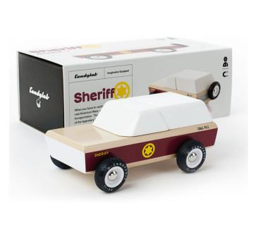 Drewniany Samochód - Sheriff - Americana - CandyLab