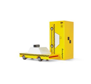 Drewniany Samochód - Yellow Taxi - CandyLab