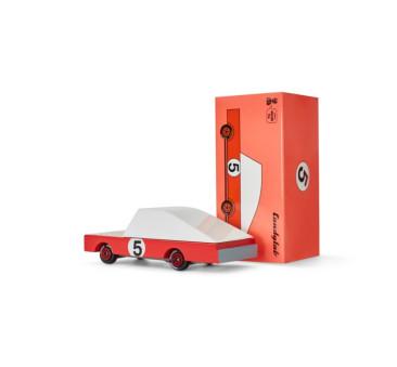 Drewniany Samochód - Red Racer - CandyLab