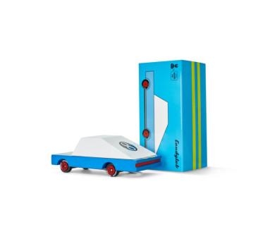 Drewniany Samochód - Blue Racer - CandyLab