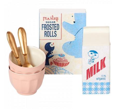 Zestaw Śniadaniowy - Breakfast set for two - Akcesoria dla Lalek - Maileg