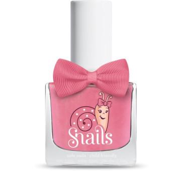 Lakier do paznokci dla dzieci - Jasnoróżowy z Brokatem - Fairytale - Snails