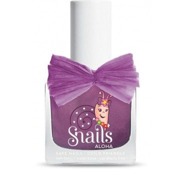 Lakier do paznokci dla dzieci - Fioletowy - Aloha Ukulele - Snails