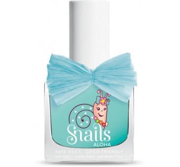 Lakier do paznokci dla dzieci - Turkusowy - Aloha Waikiki - Snails
