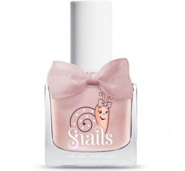Lakier do paznokci dla dzieci - Perlowy Róż - Bebe Jellyfish - Snails