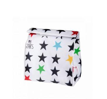 WYPRZEDAŻ Torebka na Przekąski - My Star's - White - My Bag's