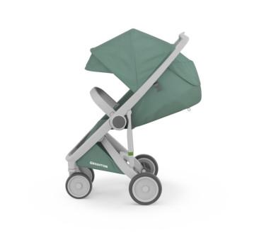 Wózek Greentom Upp Classic - grey - sage / szaro - zielony