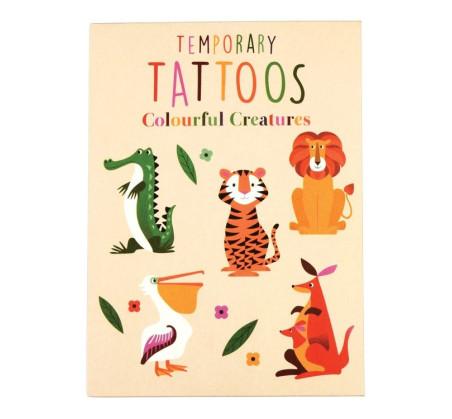 Zmywalne Tatuaże - Zwierzaki - Rex London Trade