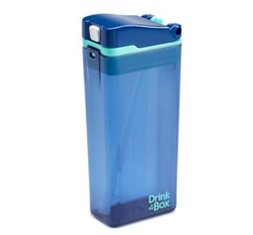 Bidon Ze Słomką Blue 355 ml Borówkowy Drink In The Box