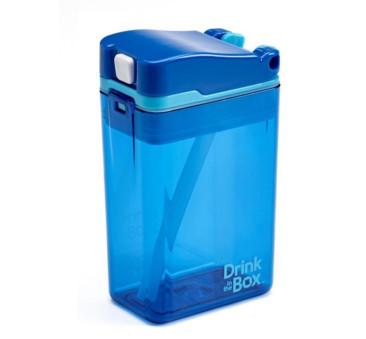 Bidon Ze Słomką Blue 235 ml Borówkowy Drink In The Box